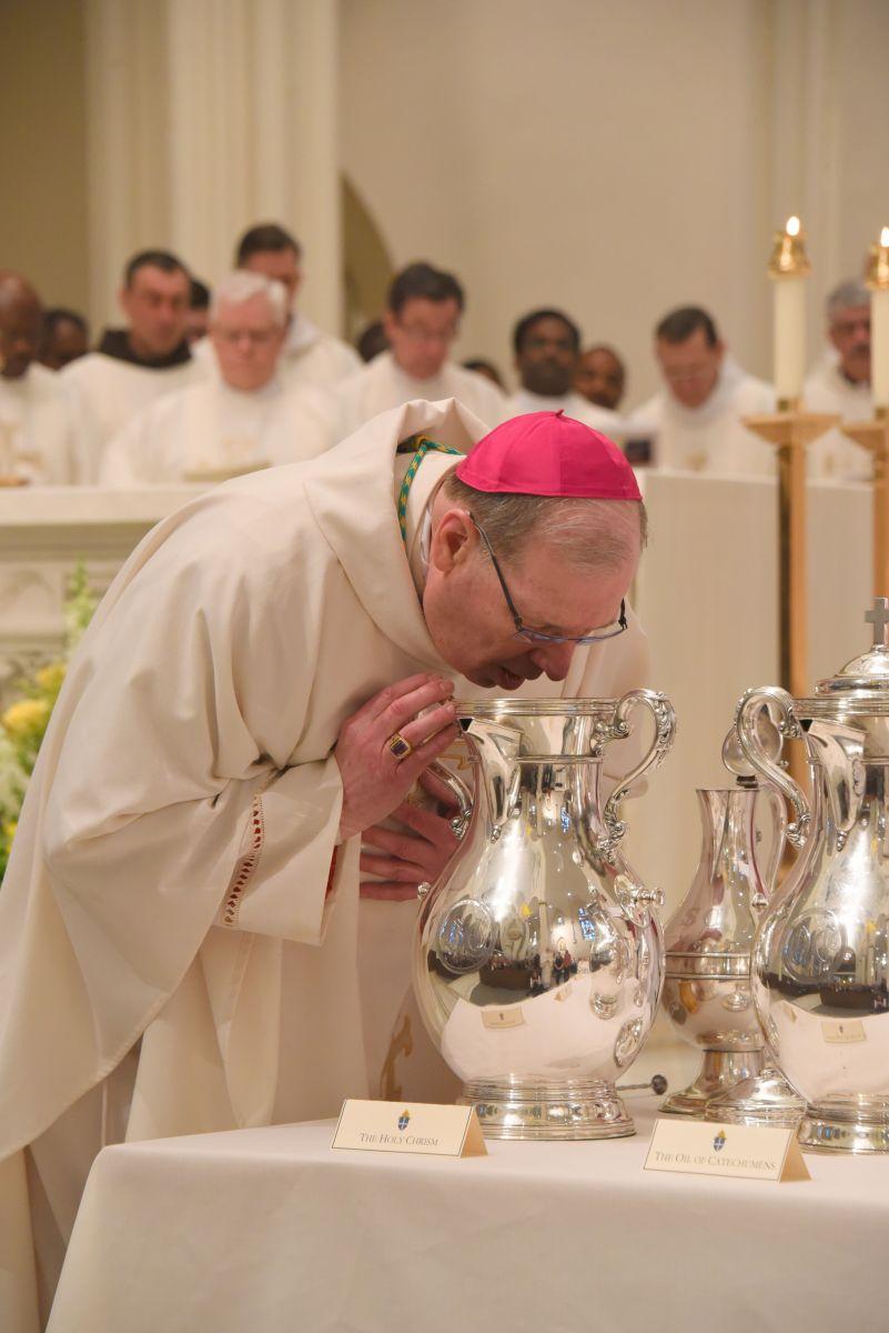Holy Week: Bishop Deeley Celebrates Chrism Mass in Portland